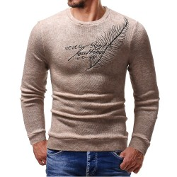 brand casual social ear of wheat pullover men sweater shirt jersey clothing pull sweaters mens fashion male knitwear