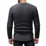Cashmere Sweater Men Brand Clothing Mens Sweaters Print Casual Shirt Autumn Wool Pullover Men O-Neck Pull Homme Top