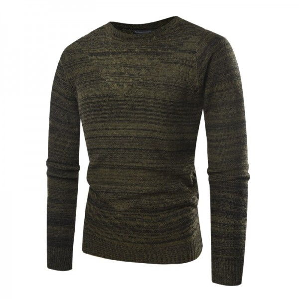 New Autumn Fashion Brand Casual Sweater O-Neck Striped Slim Fit Knitting Mens Sweaters And Pullovers Men Pullover Men
