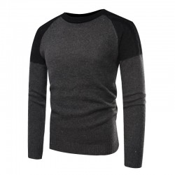The high-end fashion line sweater men, the new pullover men of autumn and winter, is fitted with 100% cotton trim men sweate